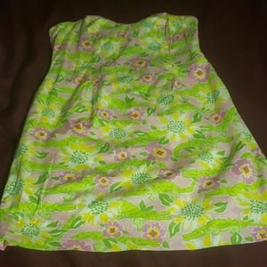 Lilly P strapless summer dress (8)